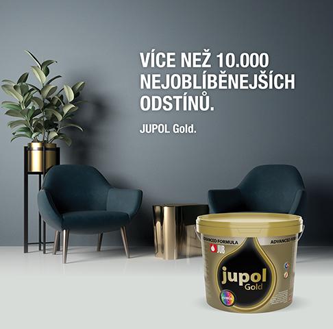 JUPOL Gold - více než 10.000 oblíbených odstínů