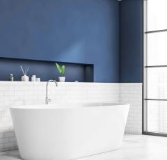 Prednosti kopalnic brez ploščic prinaša HYDROSOL Decor