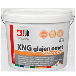 XNG - silikonová hlazená omítka