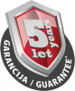 5 letá garance JUPOL Strong