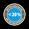 JUBIZOL EPS F Effect Plus - Better insulation